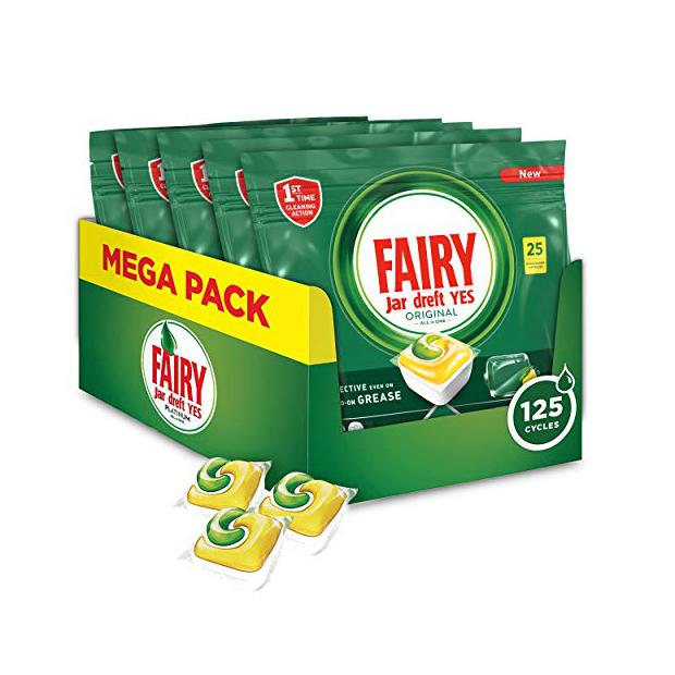 Accesorios para lavavajillas Fairy