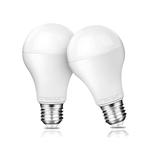 Bombillas LED E27 20w 6500k