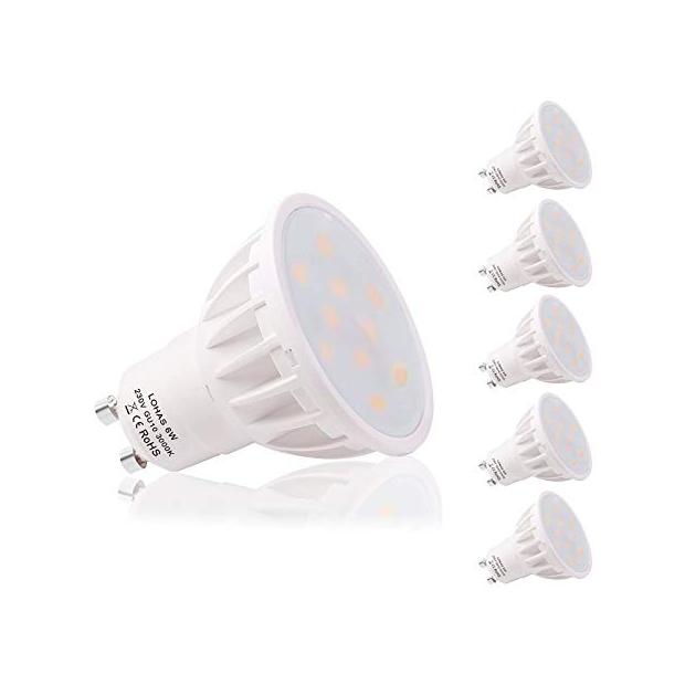 Bombillas LED GU10 120 grados