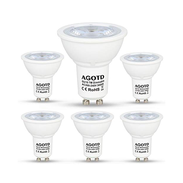 Bombillas LED GU10 regulables