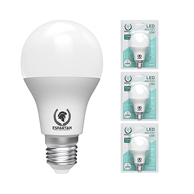 Bombillas LED cálidas