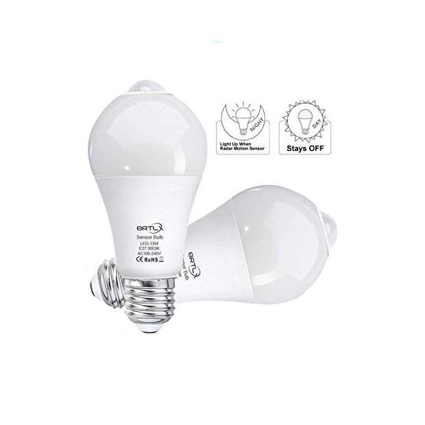 Bombillas LED con sensor de movimiento