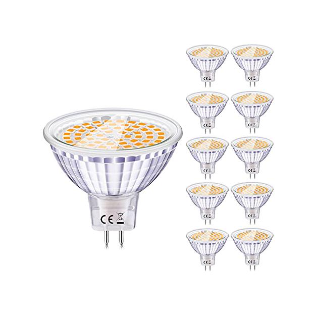 Bombillas LED mr16 12v blancos calido 9w