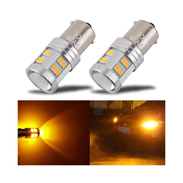 Bombillas LED naranjas