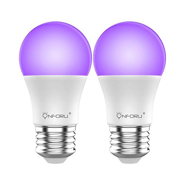Bombillas LED ultravioleta