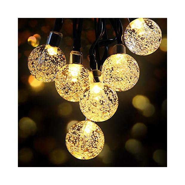 Bombillas de cristal decorativas
