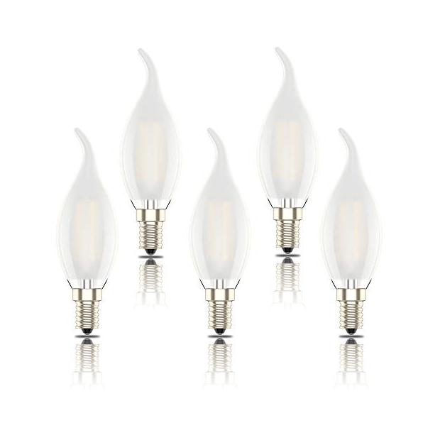 Bombillas vela decorativas