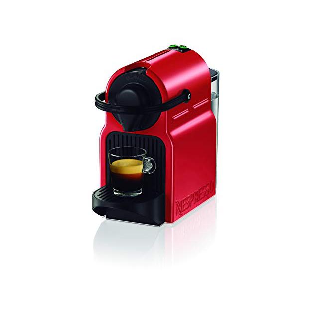 Cafeteras Nespresso rojas