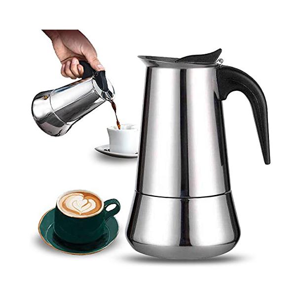 Cafeteras italianas de inducción para 8 tazas