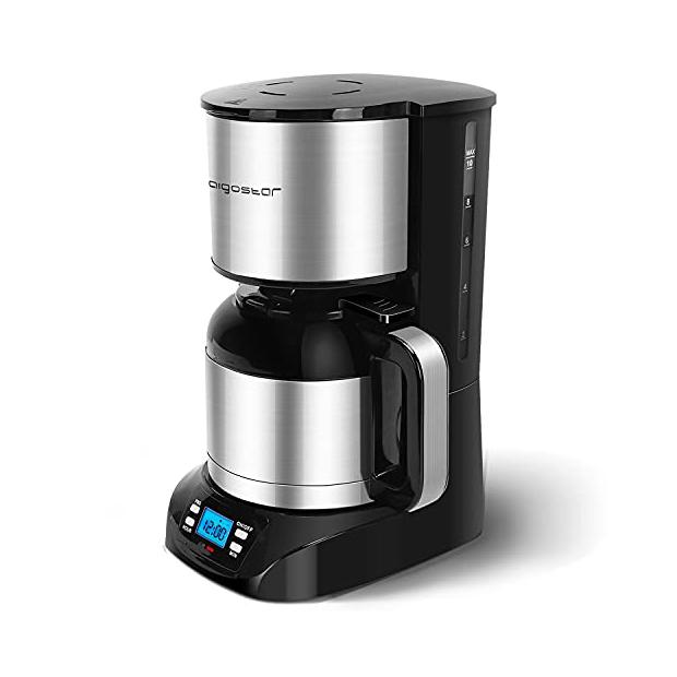 Cafeteras programables de goteo con jarra termica