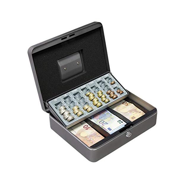 Cajas fuertes para monedas