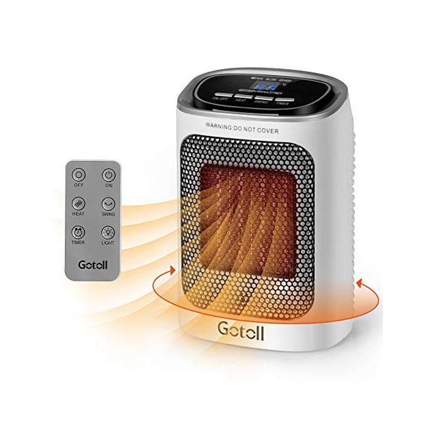 Calefactores con mando a distancia