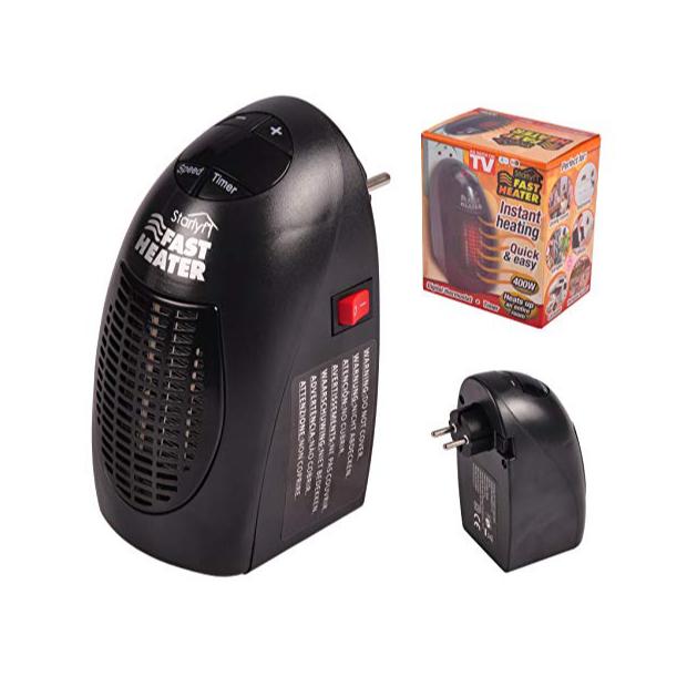 Calefactores eléctricos sin cable