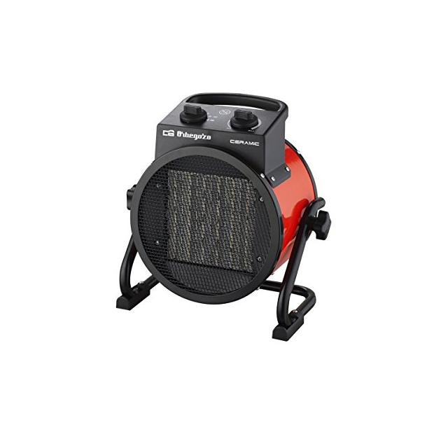 Calefactores industriales bajo consumo