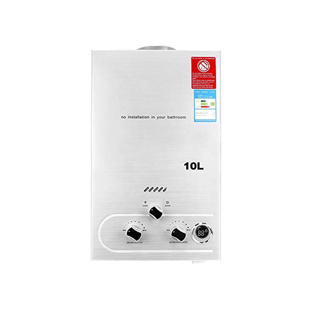Calentadores a gas butano 10 litros