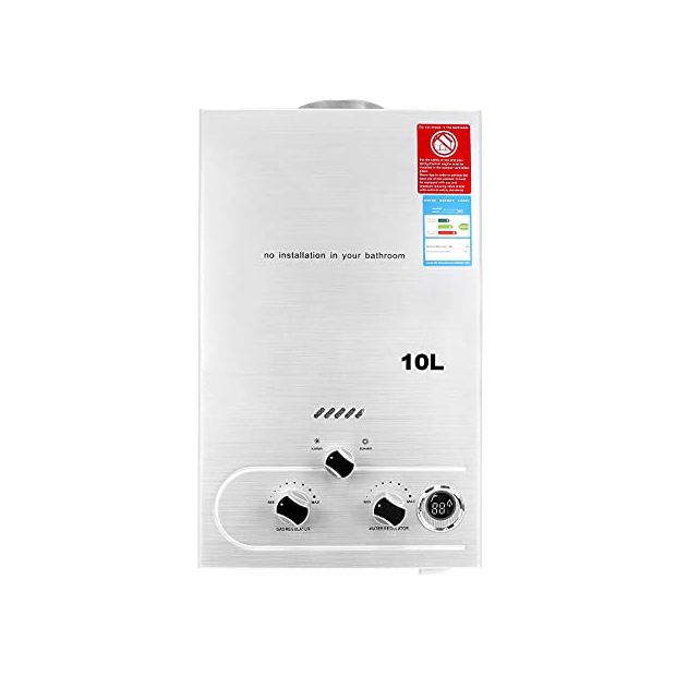 Calentadores eléctricos a gas butano