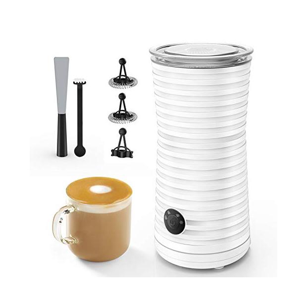 Calentadores y espumador de leche
