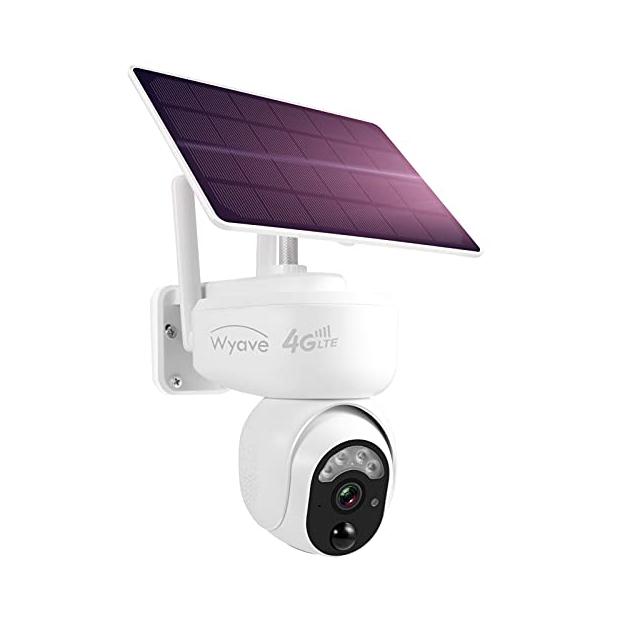 Cámaras de vigilancia exterior 4g con batería