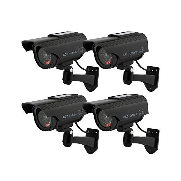 Cámaras de vigilancia exterior falsas