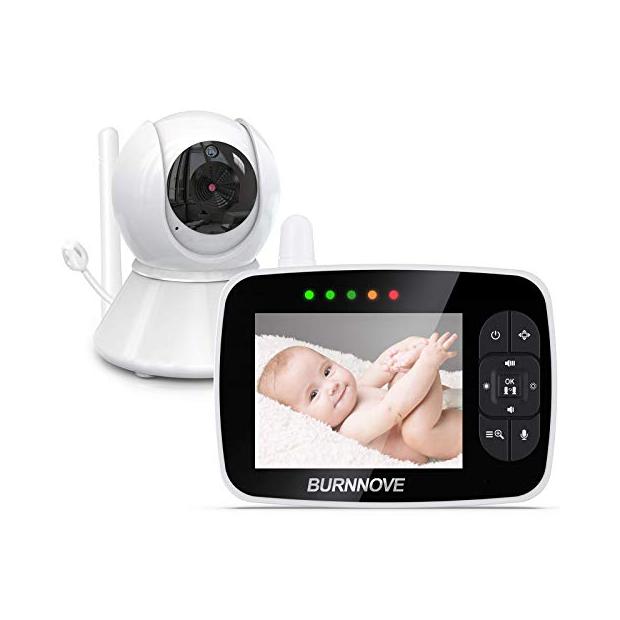 Cámaras de vigilancia para bebés con sensor de temperatura