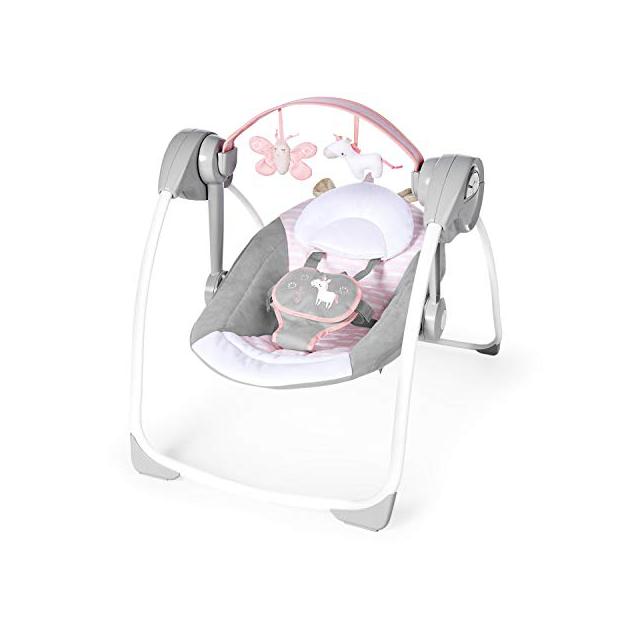 Columpios de bebés rosas