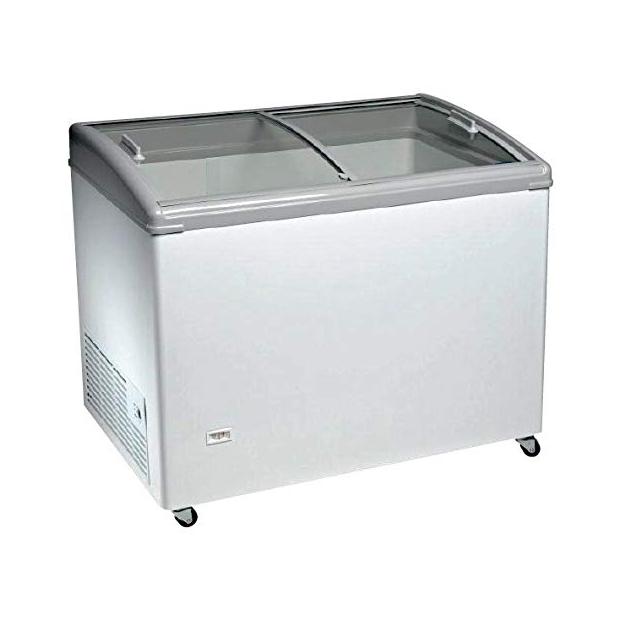 Congeladores horizontales con cristal