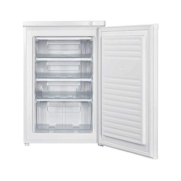 Congeladores verticales 58x58 blancos cuatro cajones