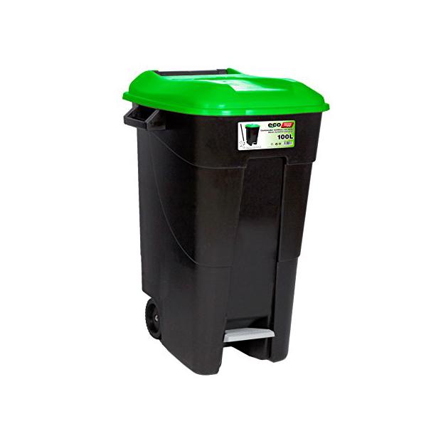 Cubos de basura 100 litros