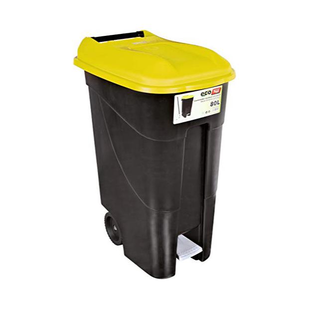 Cubos de basura 80 litros con pedal