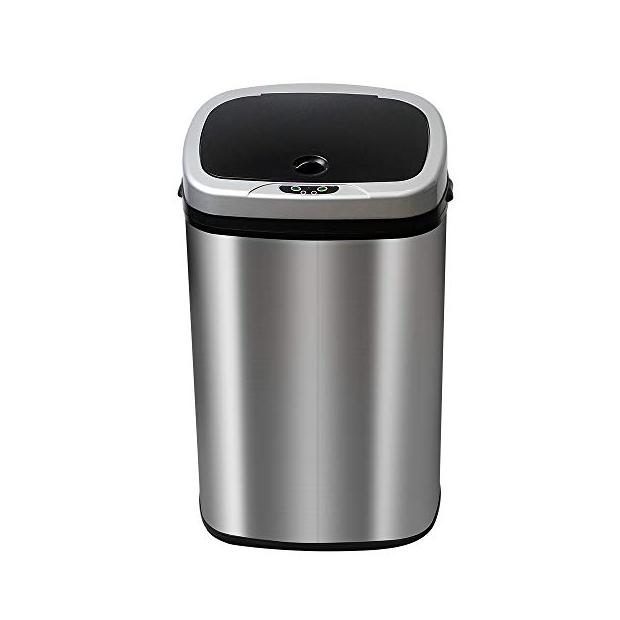 Cubos de basura con sensor