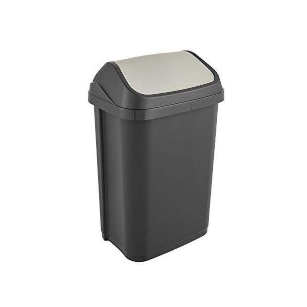 Cubos de basura con tapa basculante