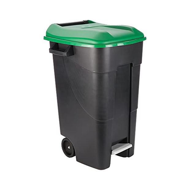 Cubos de basura grandes con ruedas