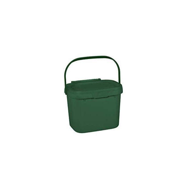 Cubos de basura orgánica