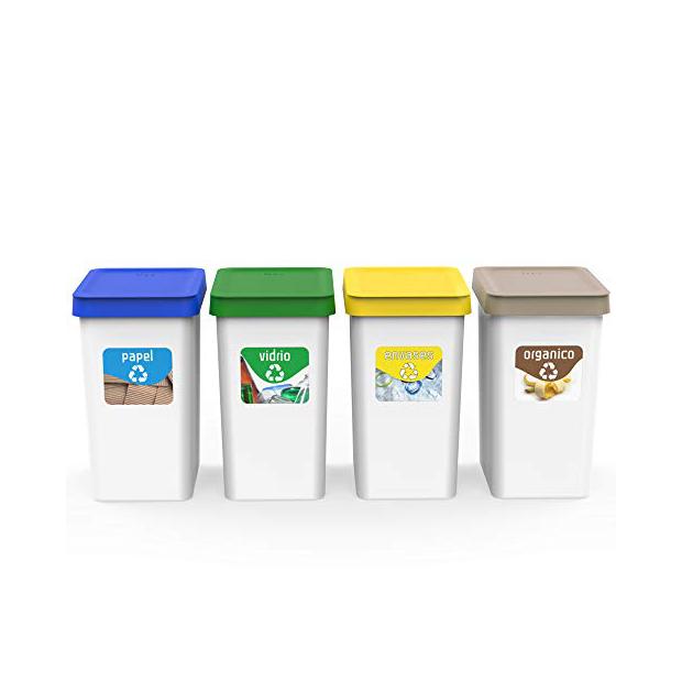 Cubos de basura reciclaje 10 litros