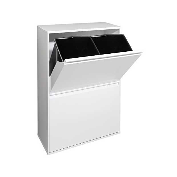 Cubos de basura reciclaje 4 compartimentos