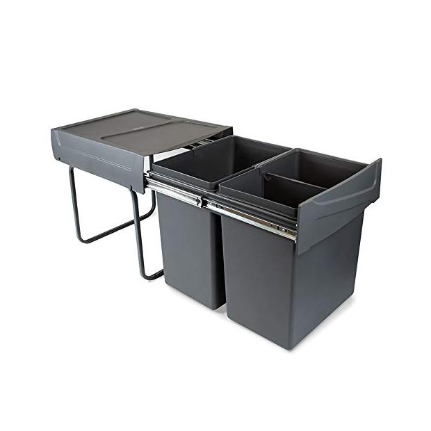 Cubos de basura reciclaje 40 litros