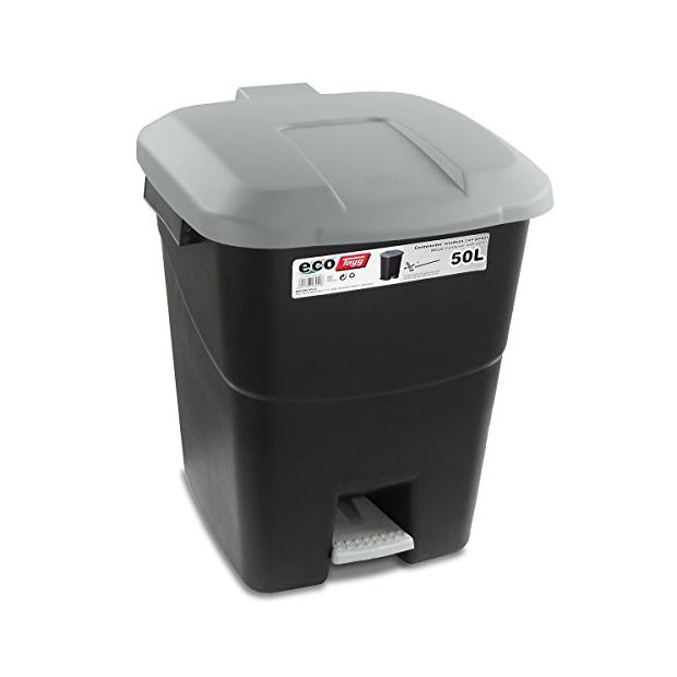 Cubos de basura reciclaje 50 litros con pedal