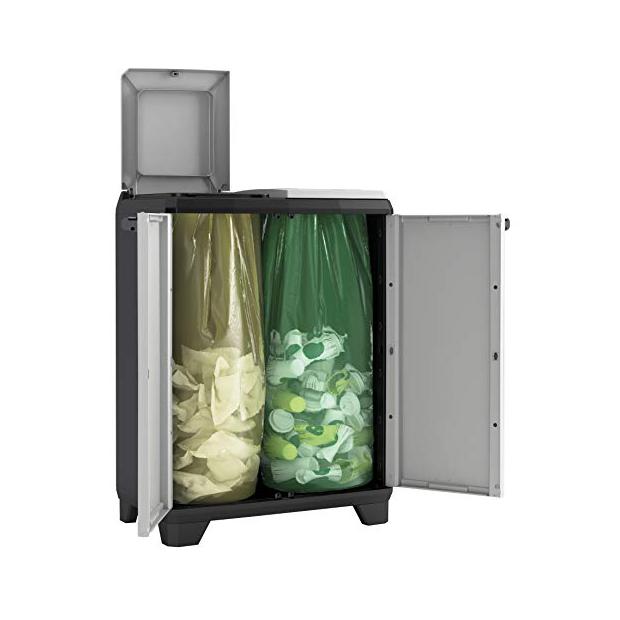 Cubos de basura reciclaje Keter