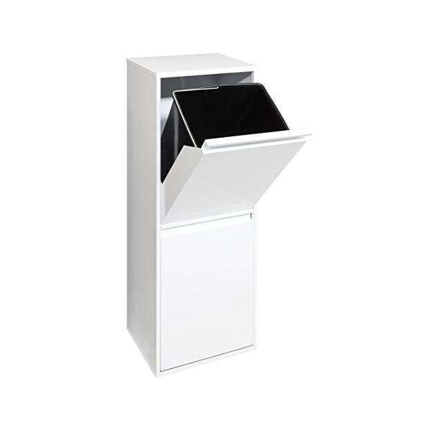 Cubos de basura verticales