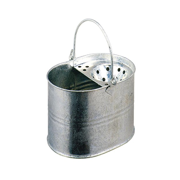 Cubos de fregona de metal