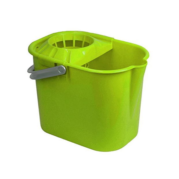Cubos de fregona verdes
