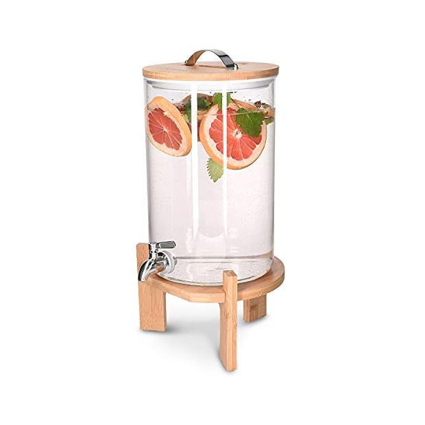 Dispensadores de agua de cristal 8 litros