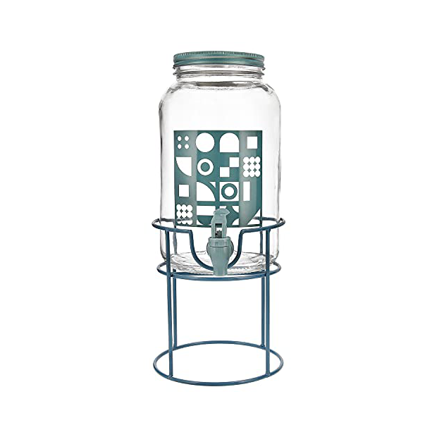 Dispensadores de agua de cristal con grifo