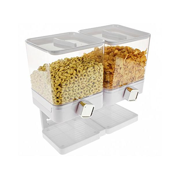 Dispensadores de cereales triple