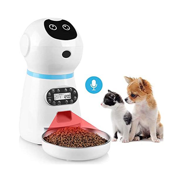 Dispensadores de comida automatico para gatos