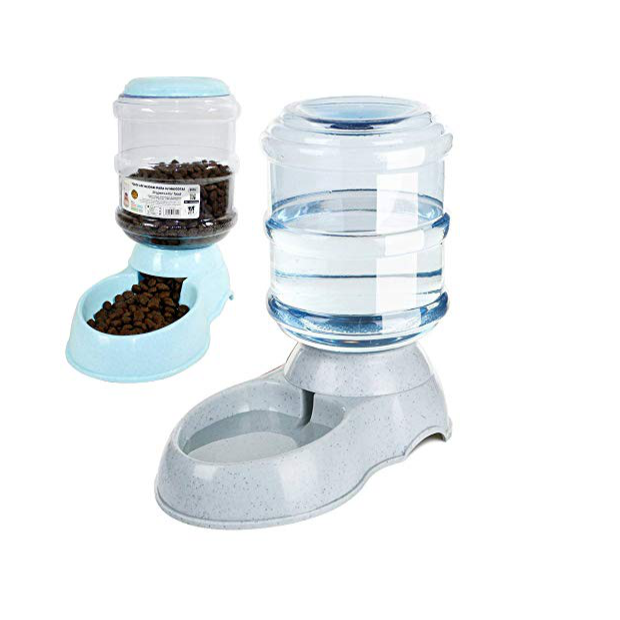 Dispensadores de comida y agua