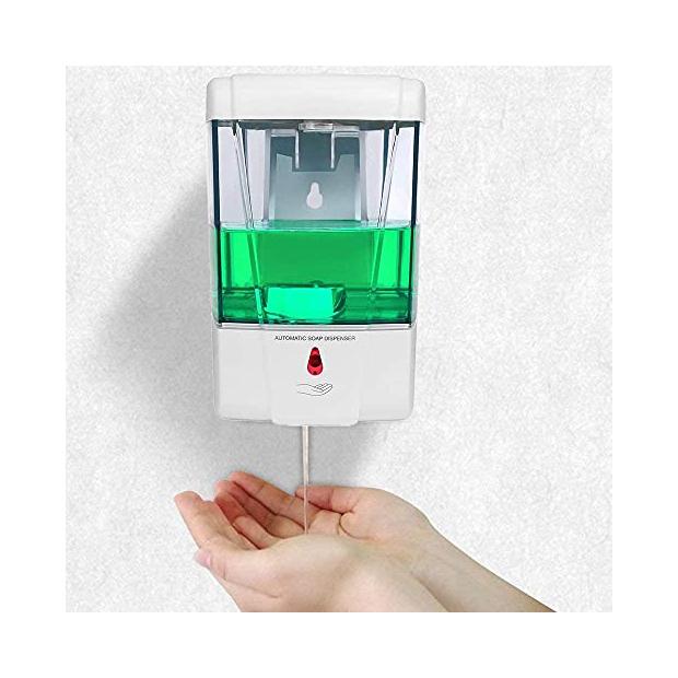 Dispensadores de gel hidroalcoholico automatico