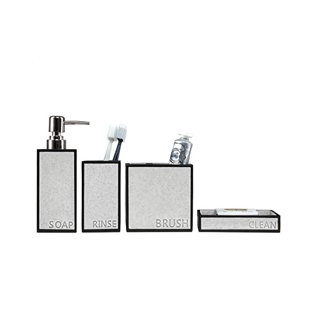 Dispensadores de jabon de baño de diseño