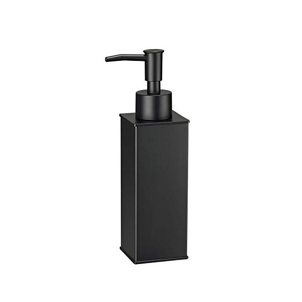 Dispensadores de jabon negros de baño