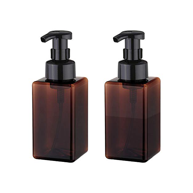 Dispensadores de jabon para baño marron